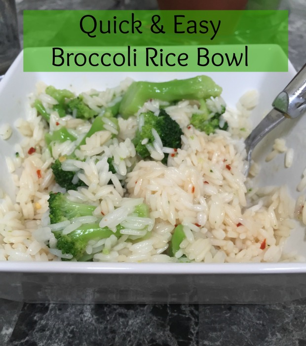 Broccoli Rice Bowl