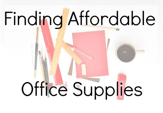 Finding Affordable Office Supplies