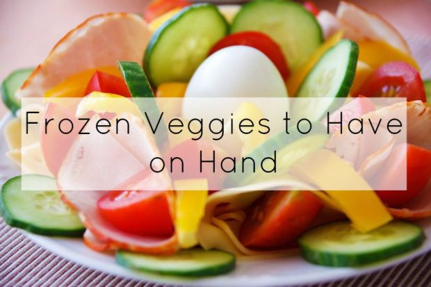 Frozen veggies to have on hand