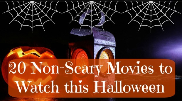 20 non-scary halloween movies