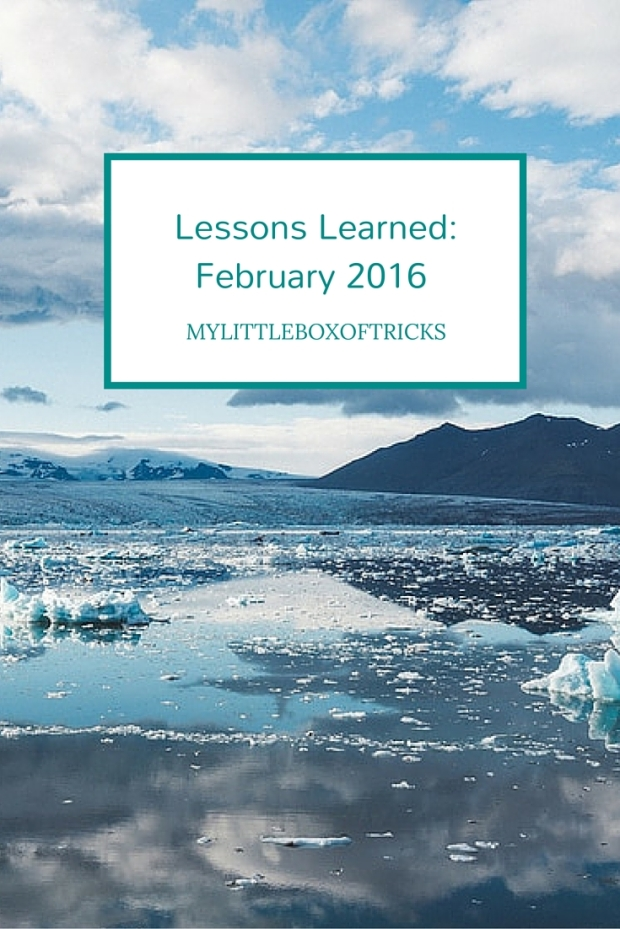 Lessons Learned_ February 2016