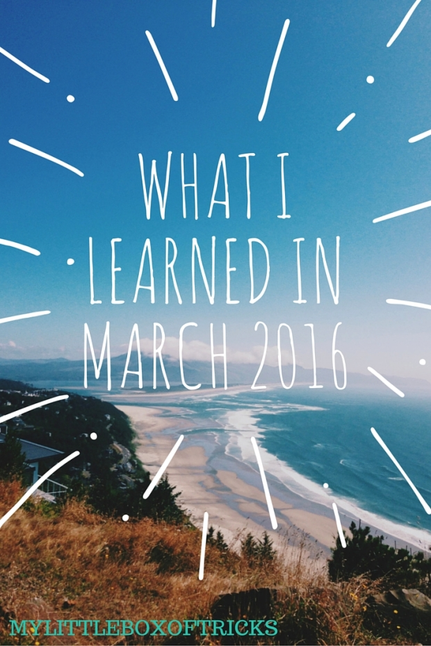 March Lessons