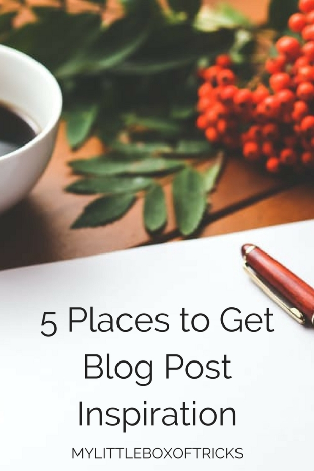 5-places-to-get-blog-post-inspiration